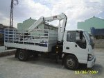 1.5 Tons Hiab Type Folding Crane