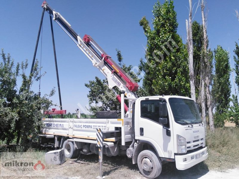 Well Pump & Pipe Lifting Crane