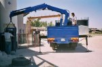 5 Tons Hiab Type Folding Crane