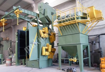 For Sale New SandBlasting Machine hanger type shot blasting machine