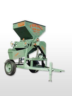 80 Lik 2 Toplu Traktör Çekili Ezme Makinası