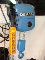 Cranes Elektric - Crane 2 Ton Chain - Demag