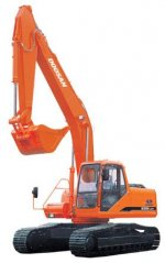 SALE of DAEWOO 225 LC-V TRACKED EXCAVATOR