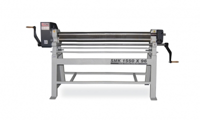En venta Nuevo MÁQUINA DE CILINDROS (con brazo) - SMK-155K 1550x96x2, 5 Máquina del cilindro, máquina del cilindro del balanceo, máquina del cilindro smk-3034k