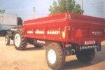 Römork 4 Ton Damperli Canlı Tarım İş Makinaları