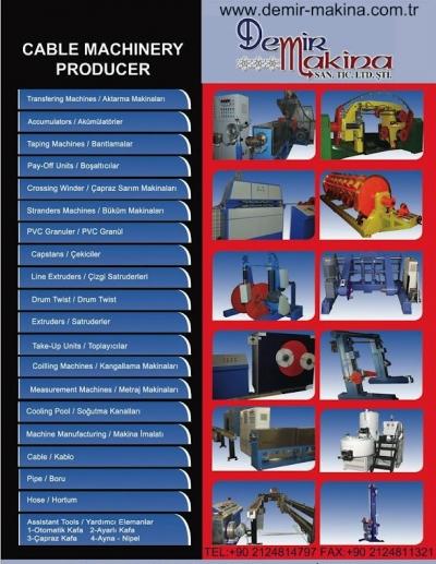 Satılık 2. El 60 lık  kablo hattı   satılık Fiyatları Karaman kablo,üretim,hattı,satılık,kablo,makinası,kablo,üretim,hattı,satılık