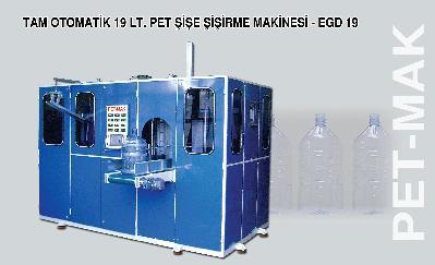 Yeni 19 Litre Dönüşümsüz Pet  Damacana  Şişirme Makinesi