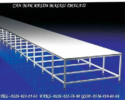 Kesim Masası Ve Paketleme Masası Kalite Kontorol Masası