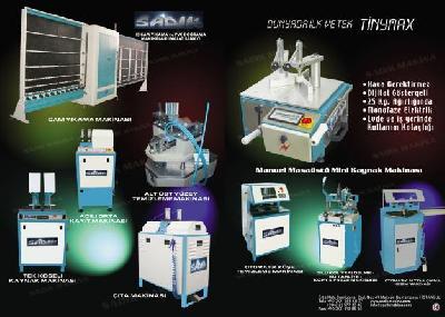 Isı Cam İşleme Makineleri Ve Pvc Doğrama Makineleri