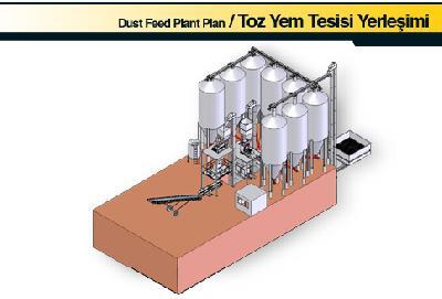 Satılık Sıfır Toz Yem Tesisi Yerleşimi Fiyatları Konya toz yem tesisi,yem ünitesi,yem fabrikasi