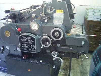 46X64 Heidelberg Ofset Baskı Makinası