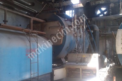 For SALE SECOND HAND 400 M2 STEAM BOILER