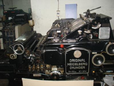 Heıdelberg Kazanlı Kesim Makinası 46 58.5