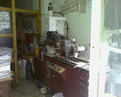Satılık 2. El PMF 1201 KEMER MAKİNASI Fiyatları Konya pmf1201 kemer/kayış-punc-boy kesme- markalama makinası