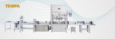Tartımlı Otomatik sıvı Dolum Makineleri sıvı Dolum madeni Yağ Dolum