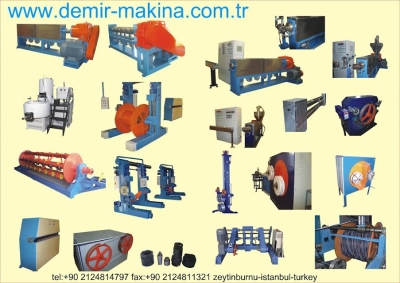 Satılık Sıfır satılık kablo makineleri Fiyatları İstanbul kablo makinesi,hortum makinesi,pvc fitil makinesi,satılık bodonoz,satılık extruder,pprc extrüzyon,plastik boru,plastik hortum,pvc panel,üretim makinesi,kablo tel izolasyon,kablo imalat makineleri