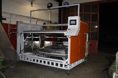 2100X1200 Plc Kontrollü Plastik Vakum Makinası (Termoform)