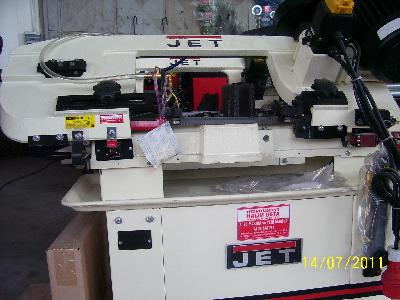 Jetco Band Saw Machine