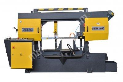 Şerit Testere Makinesi - Yatay Yarı Otomatik Açılı - Bmsy-460 C