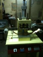TRANSFER AND HOT-PRESS MACHINE SOĞUK GILDING