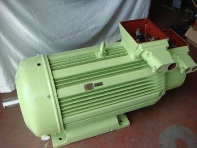 Reostalı Motor (Bilezikli Asenkron) 200Kw-950Dk.orjinal Sargı.garantili.