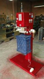 Plastik  Kasalara  -Renkli  Yaldız Boya  Baskı  Makinesi