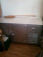 Marble Worktop Difiriz Cabinet