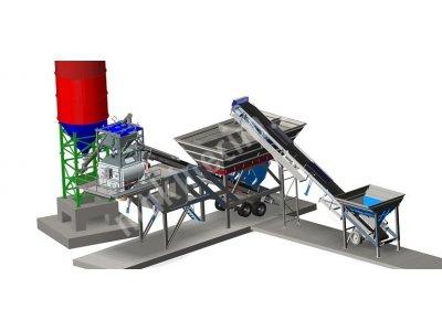 Satılık Sıfır 100 m3/h Mobile Type Concrete Plant Fiyatları İstanbul mobile concrete batch plants,stationary concrete batch plants,mobil beton santrali,beton santrali,120 m3 mobil beton santrali