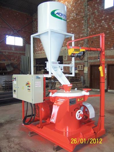 Lastik Toz Değirmen Makinesi