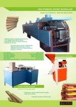 Semi Automatische Wafer Maschine