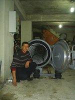 En Büyük Halı Sıkma,kurutma,geniş,sıkma Makinası,türkiye'de Eşsiz 5 Metre Tambur Halı Kurutma Ve Sıkma Makinası,makinesi