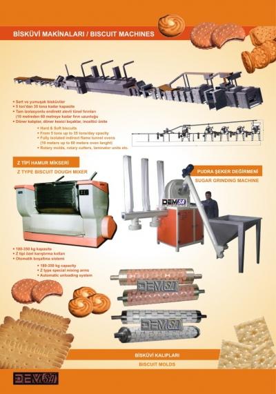 Bisküvi Makinaları