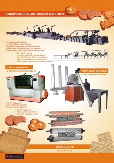 Satılık Sıfır Bisküvi makinaları Fiyatları Karaman bisküvi makinaları,bisküvi kalıpları,hamur mikseri,bisküvi hattı,bisküvi fırını