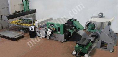 Rulo Sac Açma Doğrultma Servo Sürme Sistemi İşleme Makineleri