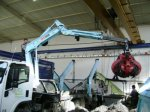 Skiploader, Recycling Machines, Folding Cranes