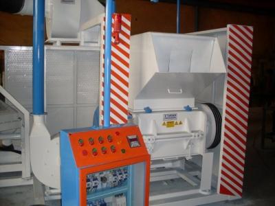 Kablo Kırma Makinası  Kablo Geri Dönüşüm Tesisi  Pvc Kırma Makinası