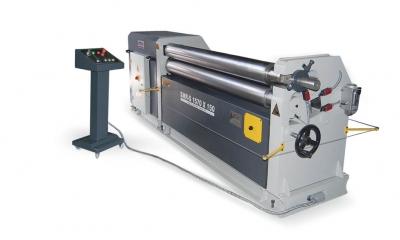 Asimetrik Üç Toplu Slindir Makinesi Smr-S 1570X150