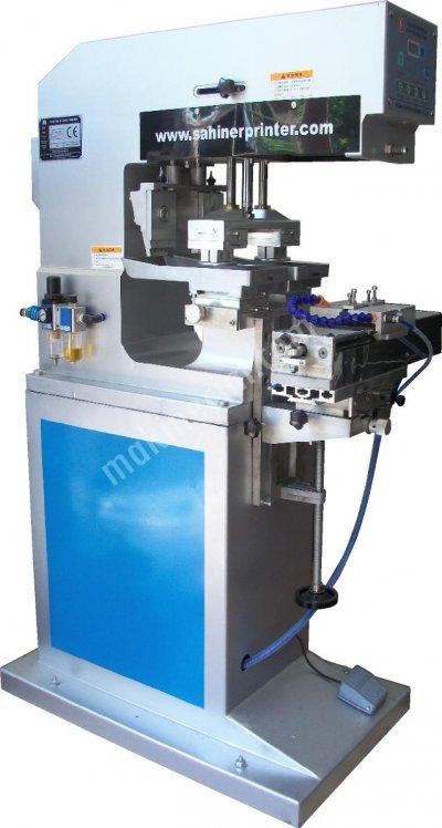 Yyc-200-150 2 Renkli 10X15Cm Açık Hazne Tampon Baskı Makinesi