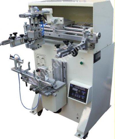 Gys 400 Düz - Yuvarlak Serigrafi Baskı Makinesi