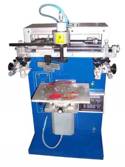 Yls 360 M Döner Tablalı Serigrafi Baskı Makinesi
