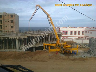 Hydraulic Boom Concrete Pumps