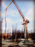 Hidrolik Beton Dağıtıcı Mastlı M21-24-26-28-32 M