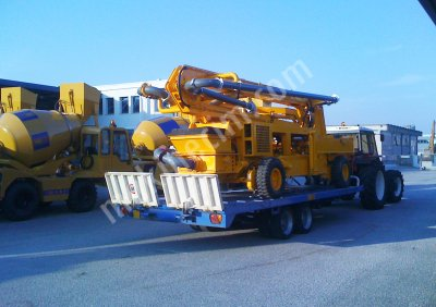 SCORPİON CP 25.318 HYDRAULIC BOOM CONCRETE PUMP