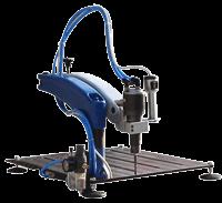 Masa Üstü Pnömatik Kılavuz Çekme Makinesi