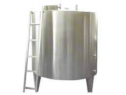 Paslanmaz 5 Tonluk Depolama Stok Tankı