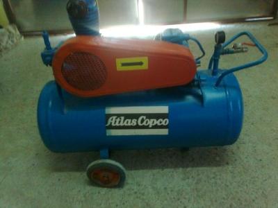 Atlas Copco Air Compressor Machine Head Single 150 Lt