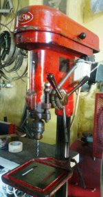 Elsan Machine Upright Drilling Machine