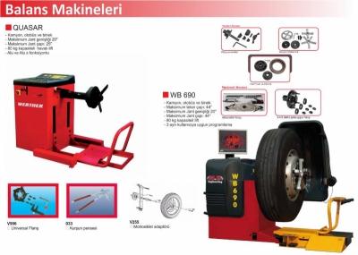 Lastik Balans Cihazları   Balans Makineleri