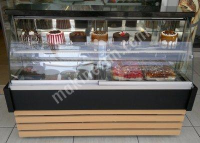Satılık Sıfır 2a Pasta Vitrini / Tatlı Teşhir Dolapları Fiyatları İstanbul pasta teşhir vitrini,pasta vitrini,pasta reyonu,pasta dolabı,pasta dolabı fiyat,pastane dolap fiyatları,tatlı soğutucu dolap,çikolata vitrini,ahşap pasta dolabı