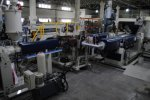 THREE LAYER ABS SHEET EXTRUSION LINE